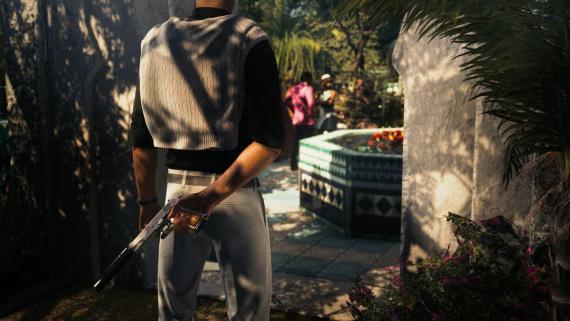 Agent 47, Bienvenue à l'exposition florale