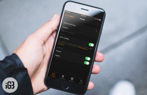 Comment activer les appels Wi-Fi sur l'Apple Watch