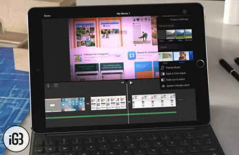 Comment créer un film avec l'application iMovie sur l'iPad ?