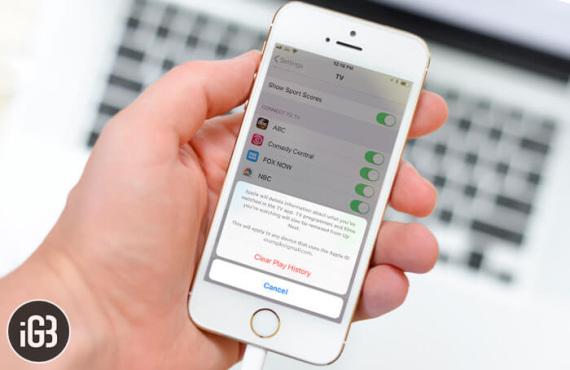 Comment effacer l'historique de lecture des applications TV sur l'iPhone et l'iPad ?