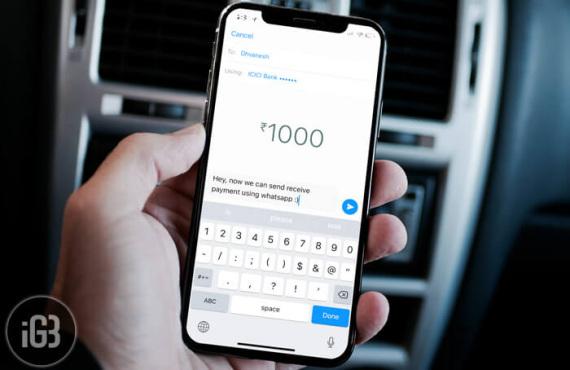 Comment envoyer/recevoir de l'argent avec WhatsApp sur iPhone et Android ?