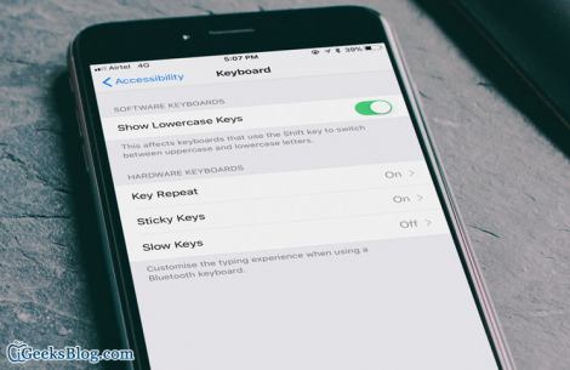 Comment personnaliser le clavier Bluetooth sur l'iPhone et l'iPad