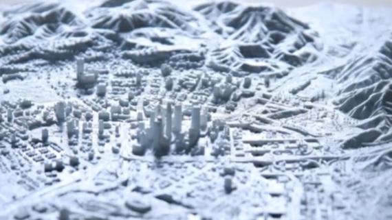 Il a fallu plus de 400 heures pour réaliser cette carte GTA V imprimée en 3D très précise
