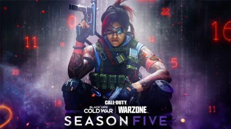 La saison 5 de Black Ops Cold War et Warzone sera lancée le 12 août.