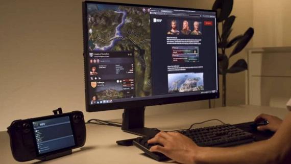 Le lecteur Steam pourrait avoir du mal à jouer à certains jeux sur les grands téléviseurs