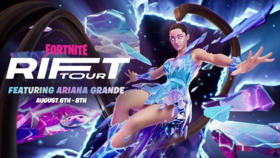 Le responsable de YouTube Gaming donne des instructions aux créateurs qui diffusent la tournée The Rift de Fortnite.
