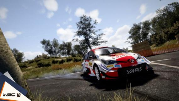 Le WRC 10 rend hommage à une légende du rallye avec la Subaru Impreza de Colin McRae