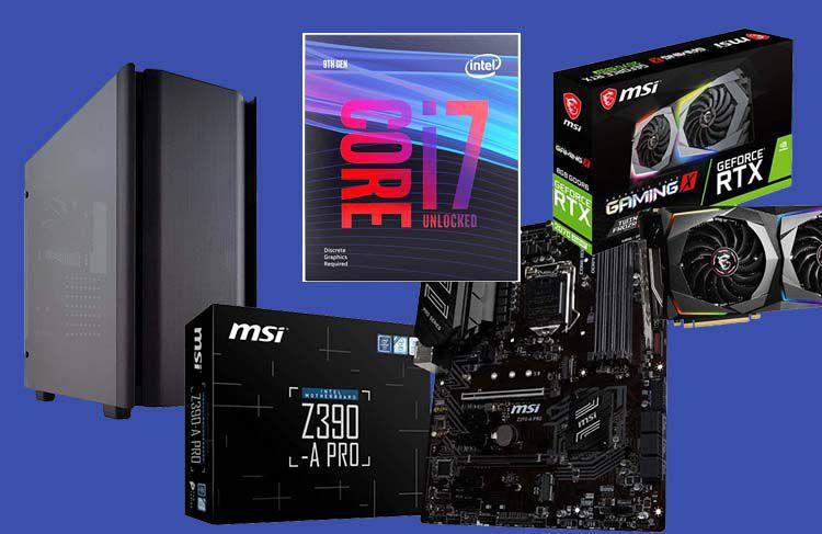 Config PC gamer pour 2000 € euros