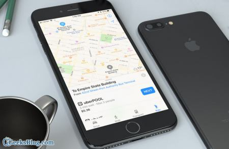 Comment permettre à Maps d'afficher les trajets des applications de réservation de trajets sur iPhone ?