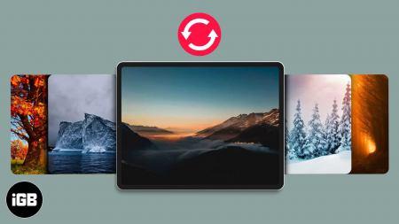 Comment changer automatiquement le fond d'écran de l'iPhone dans iOS 14