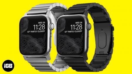 Meilleurs bracelets en acier inoxydable pour Apple Watch 6, SE, 5, 4 et 3 en 2021