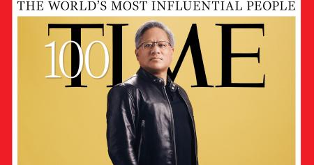 """NVIDIA va générer des """"avancées pour les décennies à venir"""", écrit le magazine Time"""